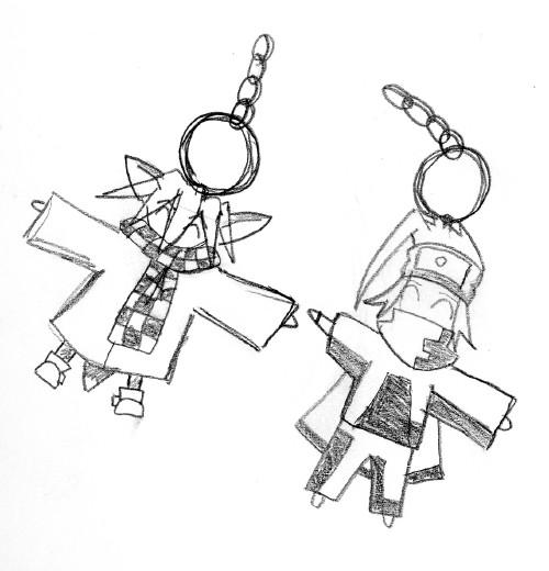 Chibi Keychains