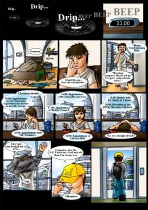 .Q Comic page 1.